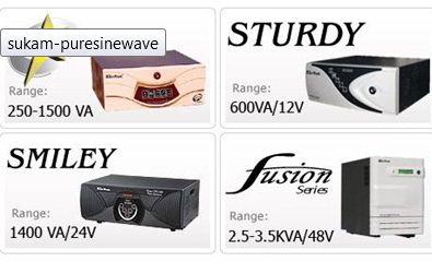 Sukam solar conversion kit for normal inverters