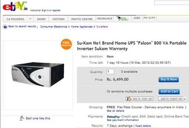 Inverter and Battery Price deals in Madurai – Professor's