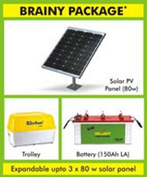 brainy solar inverter package