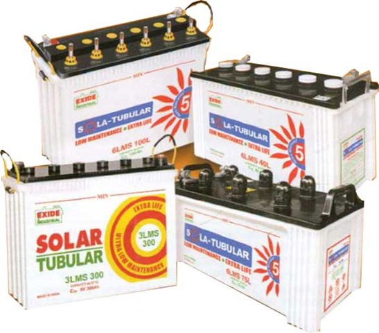 exide-solar-tubular-battery