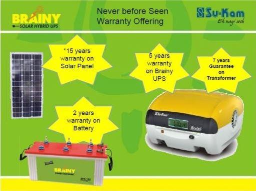 sukam brainy solar 1