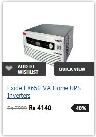 Buy Exide 650VA PureSineWave