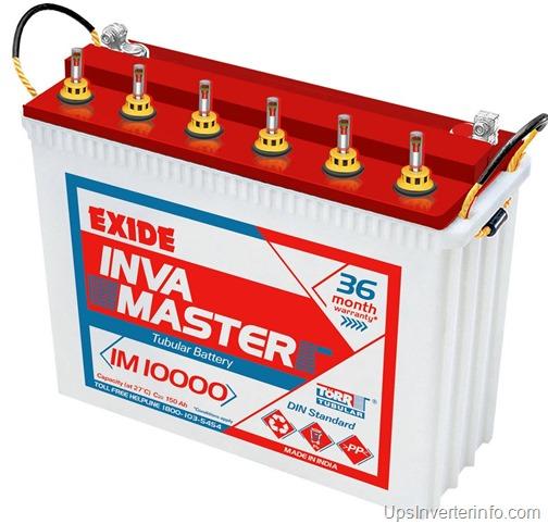Exide Inva master tall