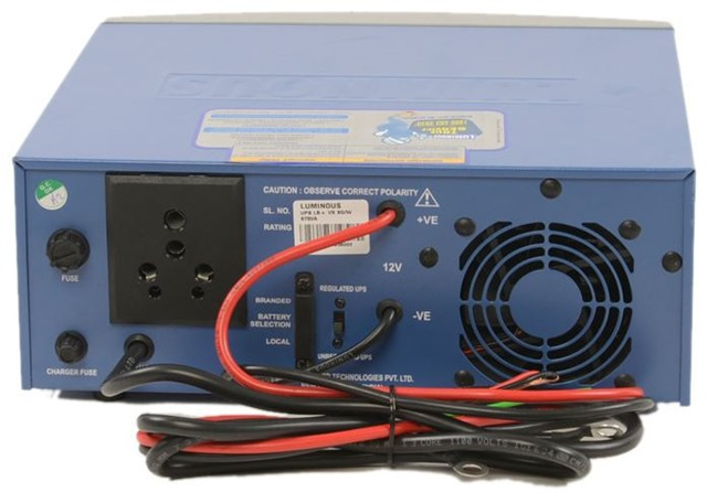 Home UPS/Inverter Back Panel switch – How to Use it?