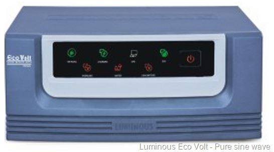 luminous eco volt sine wave inverter