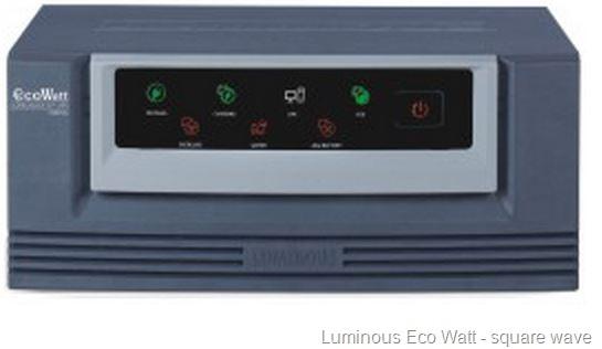 luminous eco watt square wave inverter