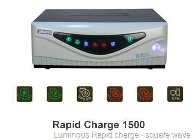 luminous rapidcharge inverter