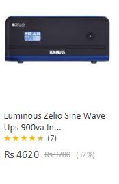 Luminous Pure Sine wave 900 VA Inverter